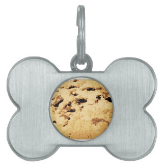 Delicious Chocolate Chip Cookie Pet Name Tag