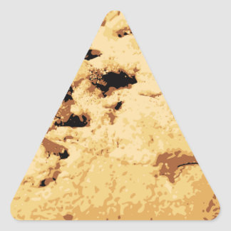 Delicious Chocolate Chip Cookie Triangle Sticker