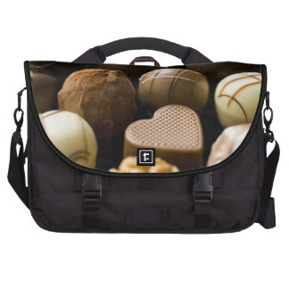 Delicious chocolate pralines bag for laptop