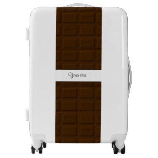 Delicious Chocolate Squares Luggage