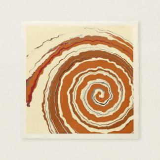 Delicious Cinnamon Swirl Paper Napkin