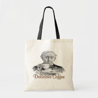 Delicious Coffee Budget Tote Bag
