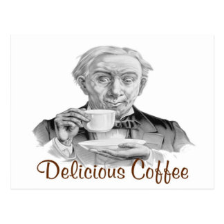 Delicious Coffee Postcard