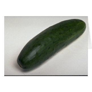 Delicious Cucumber Greeting Card