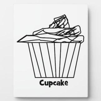 Delicious Cupcake Drawing Plaque