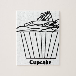 Delicious Cupcake Drawing Puzzle