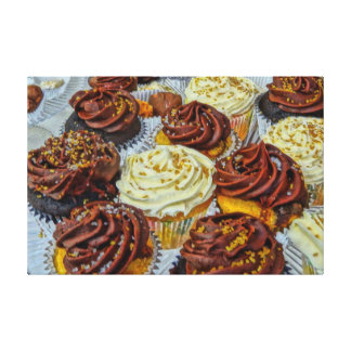 Delicious Cupcake Gallery Wrapped Canvas