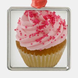 Delicious Cupcake III Metal Ornament