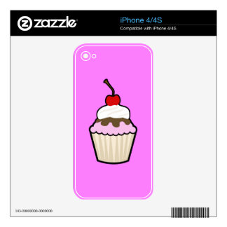 Delicious Cupcake iPhone 4 Skin