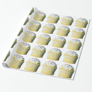 Delicious Cupcake Gift Wrap Paper