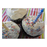 Delicious Cupcakes Birthday Greeting Cards