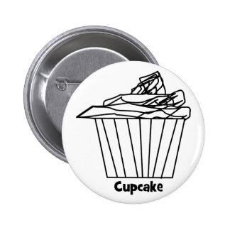 Delicious Cute Cupcake Button
