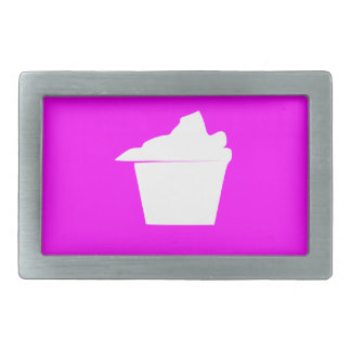 Delicious Cute Pink Cupcake Belt Buckle