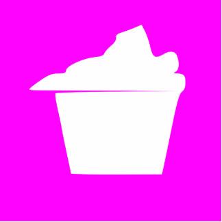 Delicious Cute Pink Cupcake Cutout