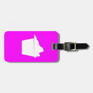 Delicious Cute Pink Cupcake Luggage Tag