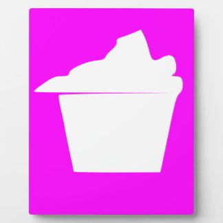 Delicious Cute Pink Cupcake Plaque