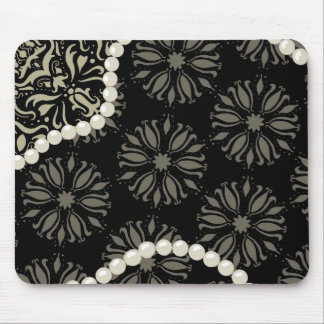 Delicious damask mouse pad