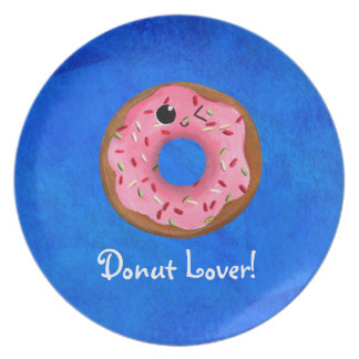 Delicious Donuts Dinner Plate