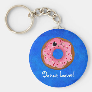 Delicious Donuts Key Chain