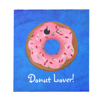 Delicious Donuts Note Pad