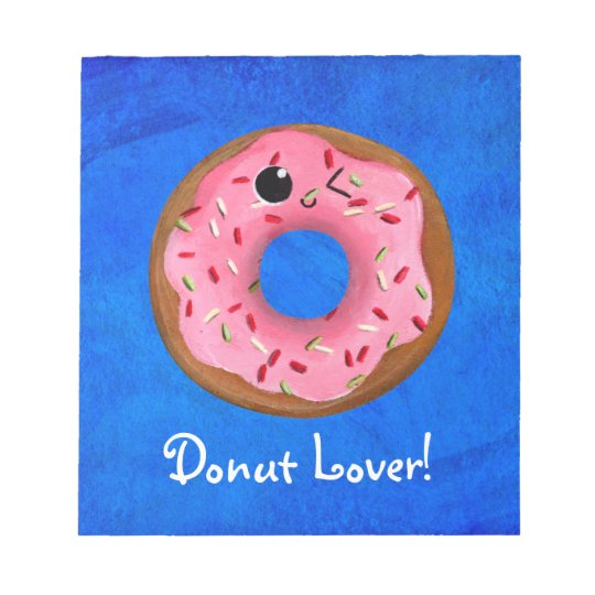 Delicious Donuts Notepad