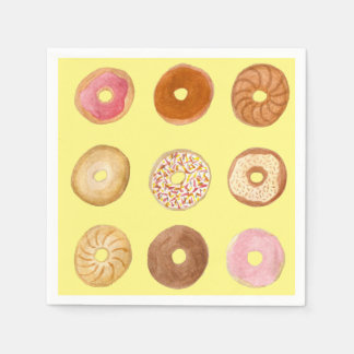 Delicious Donuts Party Napkins