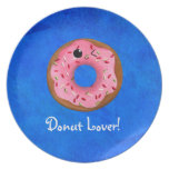 Delicious Donuts Plates