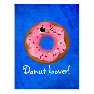 Delicious Donuts Post Cards