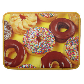 Delicious donuts print Macbook sleeve