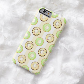 Delicious Donuts Yellow Stripes iPhone 6 Case