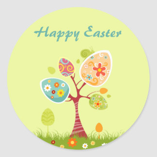 Delicious Easter Egg Tree Sticker