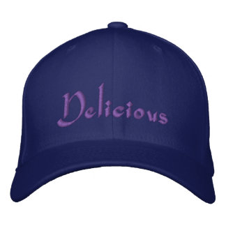 Delicious Embroidered Baseball Hat