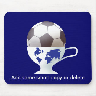 Delicious Football Cup Mouse Pad