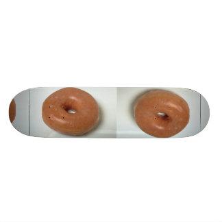 Delicious Glazed donut pastry Skate Deck