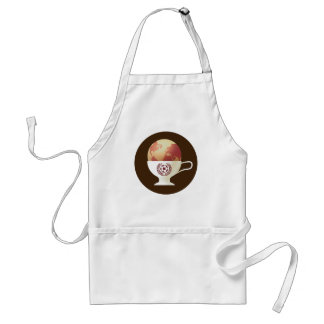 Delicious Globe in a Cup Adult Apron