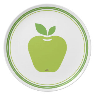 Delicious Green Apple Plate