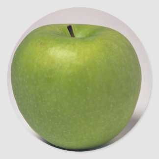 Delicious Green apple Stickers