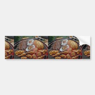 Delicious Grilled chicken Bumper Sticker