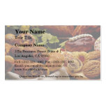 Delicious Holiday cookies and breads Business Card