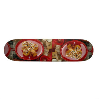 Delicious Holiday glazed pastry Skate Deck