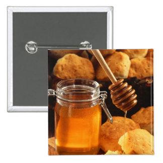 Delicious Honey Jar Button