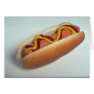 Delicious Hot dog Card