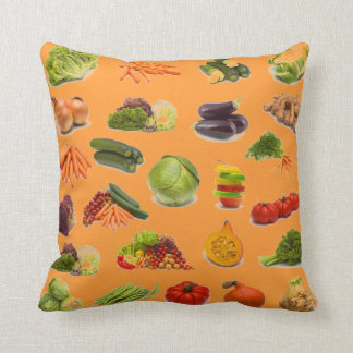 DELICIOUS-HOW SWEET THEY ARE - VEGGIES! THROW PILLOW