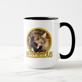 Delicious Kitty Cat Maine Coon combo mug Mug