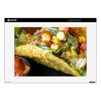 delicious Mexican Tacos photograph Decal For Laptop
