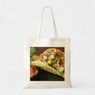 delicious Mexican Tacos photograph Tote Bag
