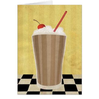 Delicious Milkshake Card