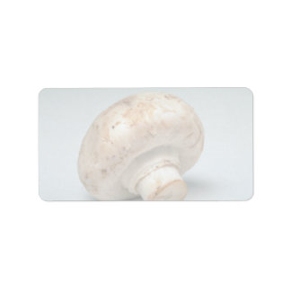 Delicious Mushroom Personalized Address Label