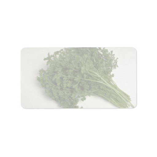 Delicious Parsley Personalized Address Labels