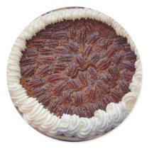 Delicious Pecan Pie! Classic Round Sticker